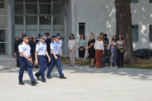 Comandante da Aeronáutica conferiu nova sede  S1 SAD Welber