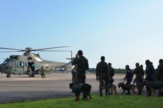 A instrução foi ministrada por militar do Batalhão de Infantaria da Aeronáutica Especial de Belém