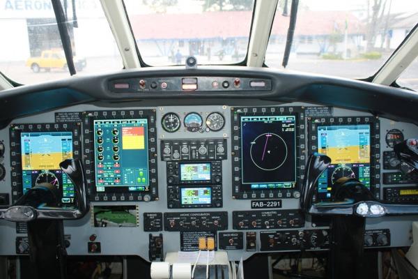 A modernização é realizada no Parque de Material Aeronáutico dos Afonsos