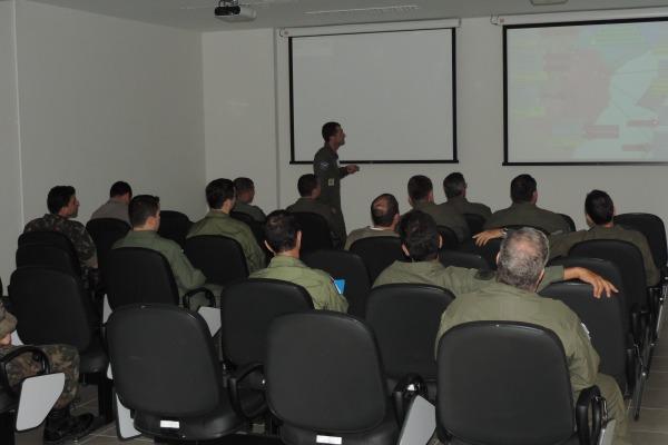 Forças treinam interoperabilidade  ECEMAR