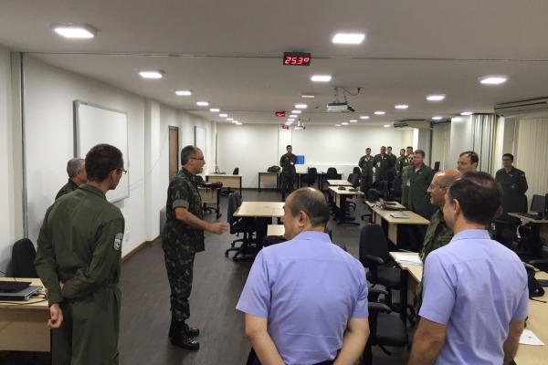 A atividade é desenvolvida simultaneamente pelas Escolas de Comando e Estado-Maior das três Forças Armadas