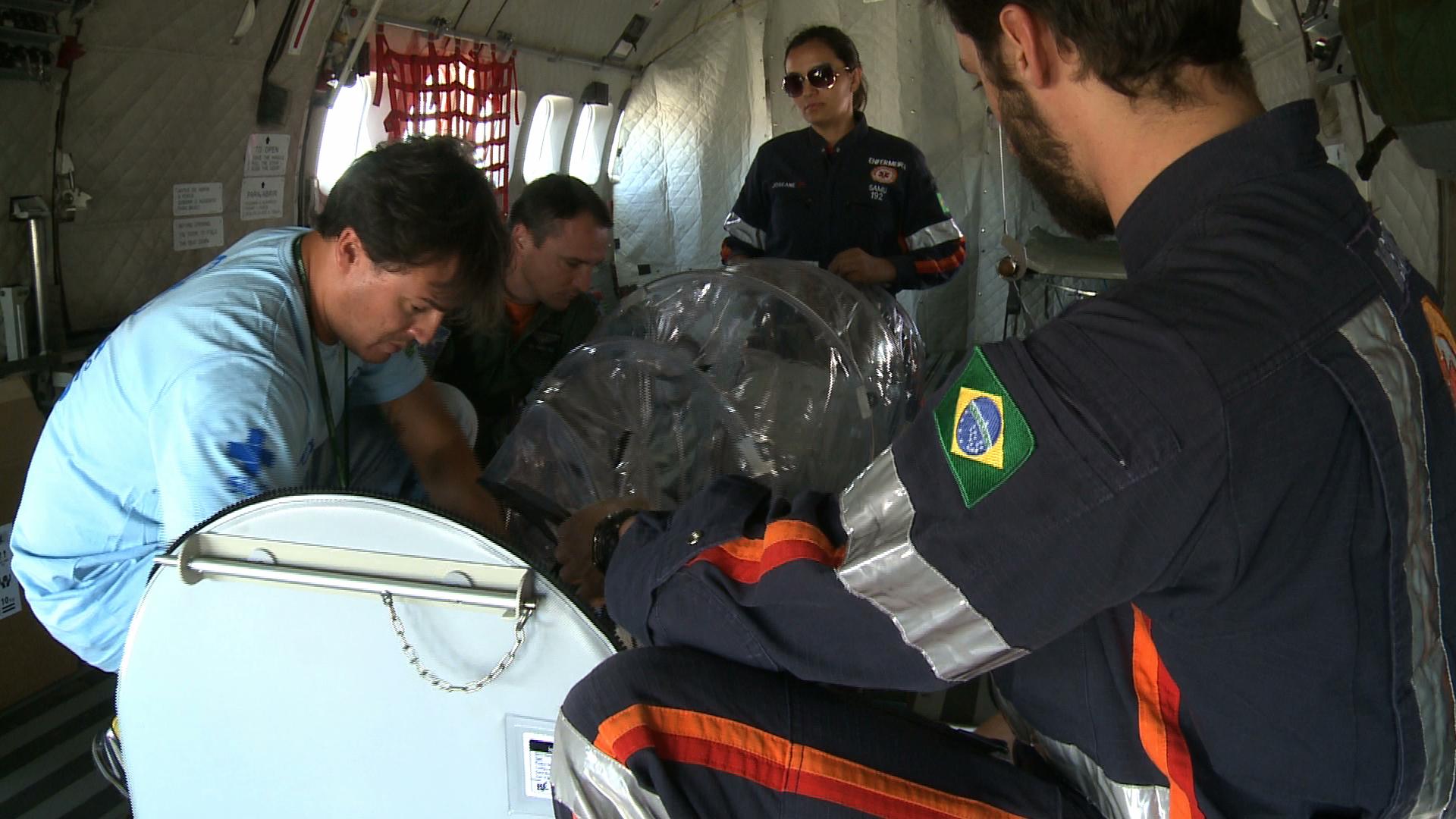 O homem de 46 anos será levado de Belo Horizonte (MG) para o Rio de Janeiro