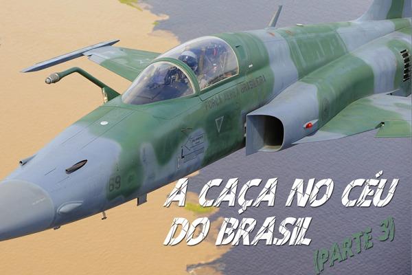 A produção mostra os aviões F-5M Tiger, A-1M AMX e A-29 Super Tucano
