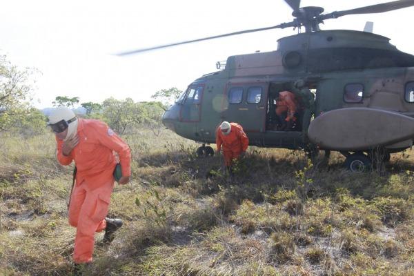 Chamas já consumiram cerca de 30 mil hectares na Chapada Diamantina