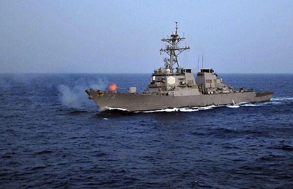Destróier Mcfaul, da US Navy  US Navy