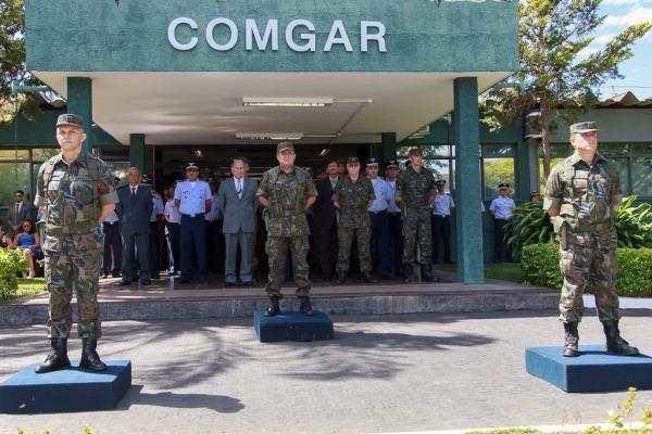 Solenidade foi presidida pelo Tenente-Brigadeiro Machado  Agência Força Aérea/Cabo Feitosa