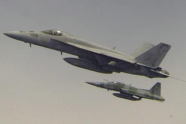 Treinamento envolveu voos de combate aéreo, ataque, patrulha marítima e guerra antisubmarino