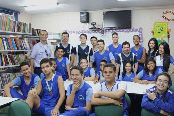 Escola foi a mais bem colocada na competição no Amazonas  VII COMAR/Soldado Oliveira Neto