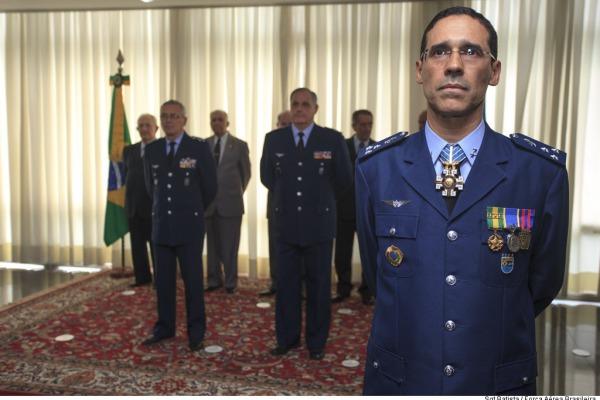 Na cerimônia, o Major-Brigadeiro Eurico se despediu do serviço ativo da FAB