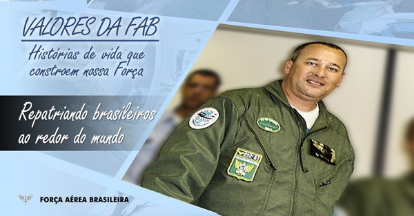O Sargento Vilhena, do Esquadrão Corsário,  participou de resgates em países em conflitos e guerras