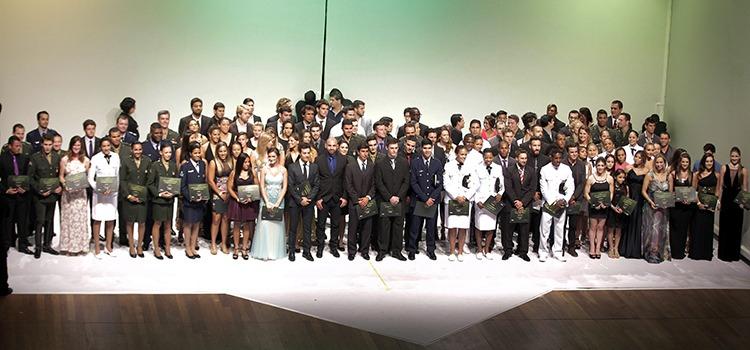 Do total de 49 vencedores da 17ª edição do Prêmio Brasil Olímpico, 15 foram atletas militares