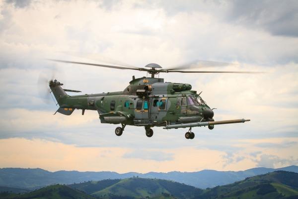 Primeira unidade do H-36 Caracal operacional já está com o Esquadrão Falcão (1º/8º GAV)