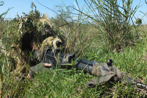 Eles concluíram o curso de atiradores de precisão e estão aptos para atuar