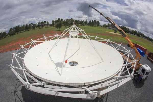 Antena principal de comando do SGDC ficará em Brasília