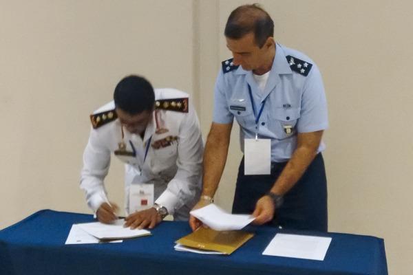 Memorando de entendimento foi assinado durante reunião do Conselho Internacional do Esporte Militar