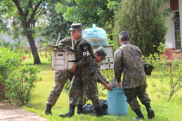 Militares da BACG realizam varredura contra mosqui  S2 Rafael dos Anjos / BACG