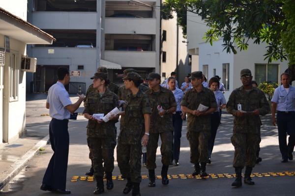 Veja também como foi a ação dos militares da FAB em todo o Brasil