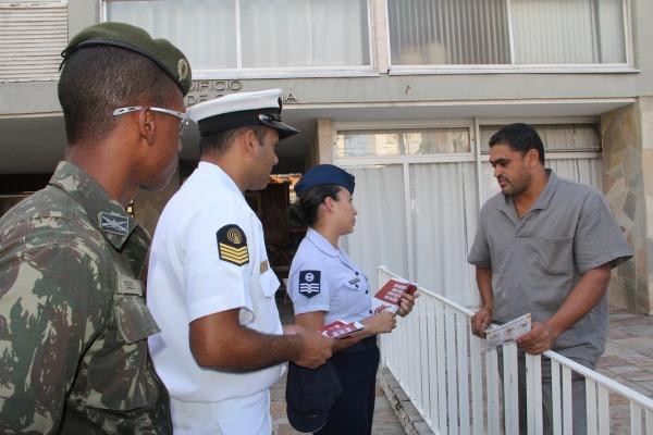 Unidades espalhadas por todas as regiões realizaram divulgação e mapeamento de áreas de risco