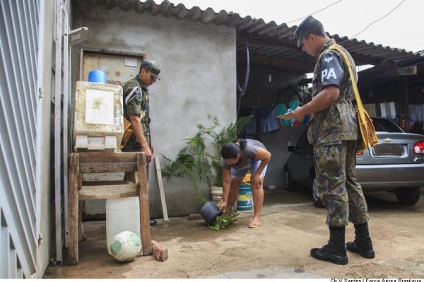 Cerca de 55 mil militares Forças Armadas fazem visitas domiciliares à procura de possíveis focos