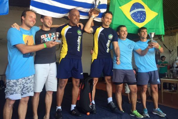 Competição reuniu atletas da Argentina, Chile, Uruguai e Brasil