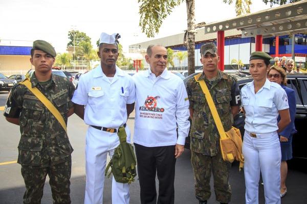 No Distrito Federal, o ministro da Saúde  afirmou que as Forças Armadas vão continuar auxiliando no combate ao mosquito