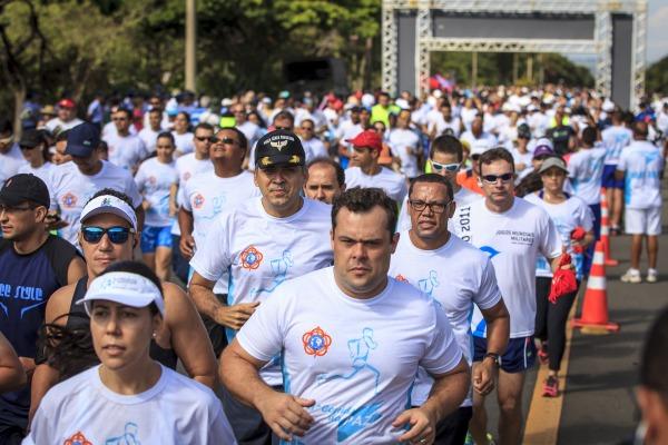 A décima primeira edição da corrida aconteceu no Eixão Sul, com um percurso de 5 km