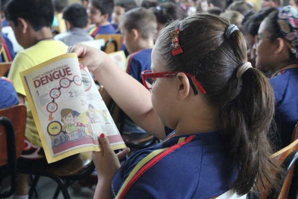 Conscientização da população e palestras em escolas são as ações principais