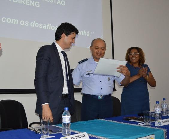 A unidade da FAB recebeu o certificado do Programa Nacional de Gestão Pública e Desburocratização - GESPÚBLICA