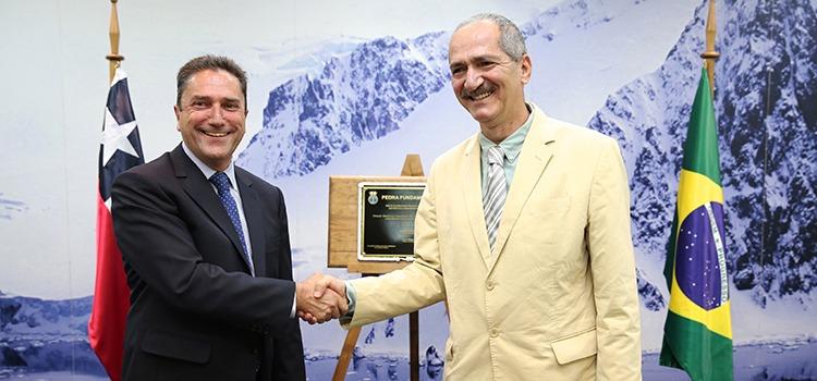 O ministro da Defesa do Chile realçou a importância da cooperação com o Brasil para levar ao continente a paz, a ciência e a tecnologia