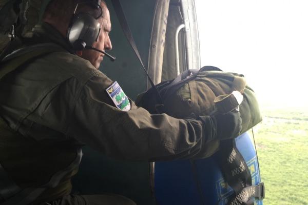O exercício conta com a participação de 114 militares e cinco aviões