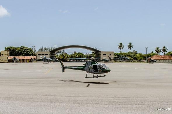 As instruções são realizadas no Esquadrão Gavião, em Natal (RN)