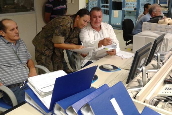 Em tempo real, a unidade da FAB enviou os dados processados e analisados para o Centro Espacial Guianês