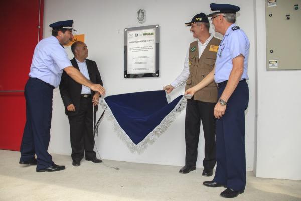 A instalação fica no campus da Universidade da Força Aérea (UNIFA), no Campo dos Afonsos