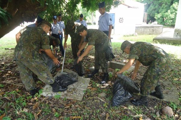 Escolas públicas e particulares estão recendo a visita dos militares para palestras de conscientização