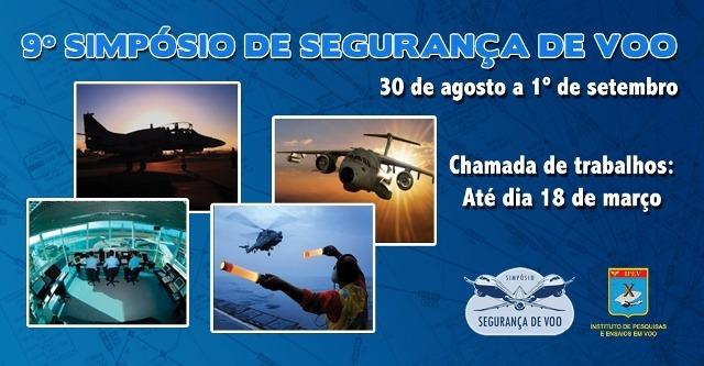 Simpósio será realizado em São José dos Campos (SP), de 30 de agosto a 01 de setembro