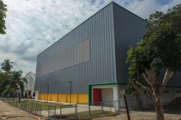 A instalação será utilizada nos Jogos Olímpicos e Paralímpicos no RJ