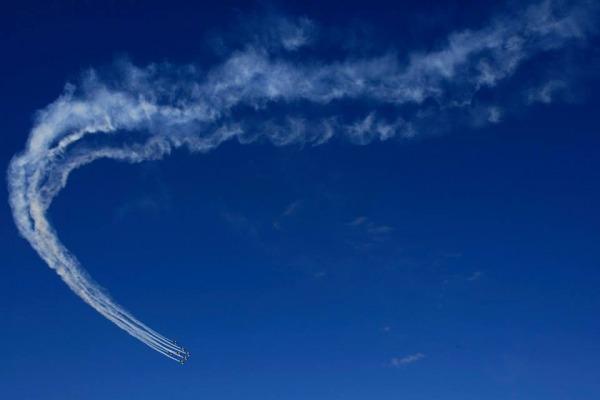 Após três anos sem apresentações internacionais, o Esquadrão de Demonstração Aérea estreia para o público chileno na FIDAE, a maior feira da aviação civil e militar da América Latina e do hemisfério sul.