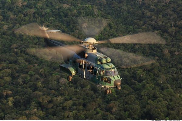 O objetivo é a capacitação de militares para resgate em ambiente de selva, especialmente em período noturno