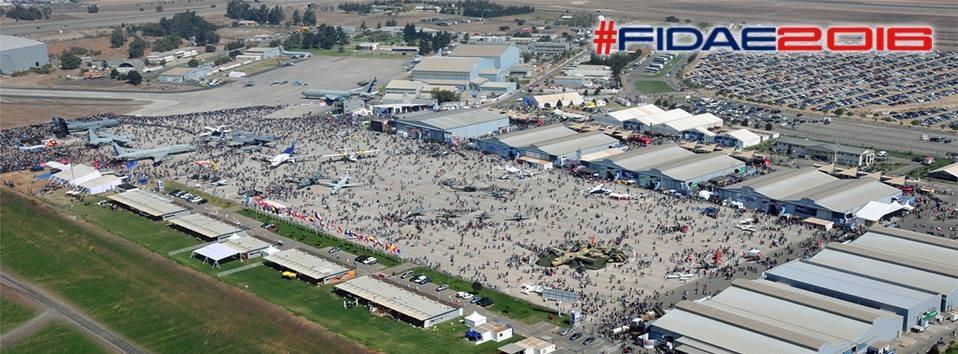A FIDAE 2016 ocorre entre os dias 29 de março e 03 de abril em Santiago, no Chile