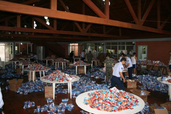 Ação beneficiou 80 entidades em Santa Catarina