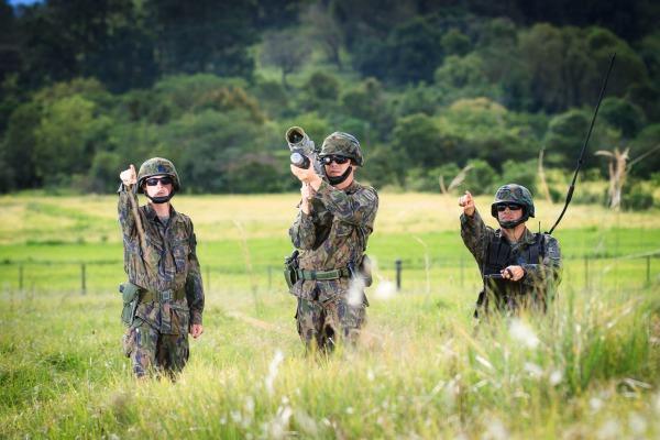 Exercício Boca do Monte integra unidades de defesa antiaérea pela primeira vez