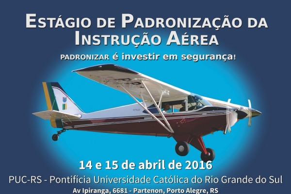 O evento ocorre nos dias 14 e 15 de abril, no Rio Grande do Sul