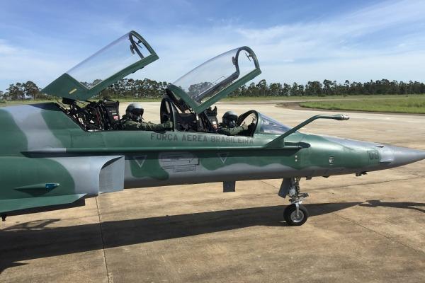 Pela primeira vez, essa aeronave é utilizada na instrução no Primeiro Grupo de Defesa Aérea