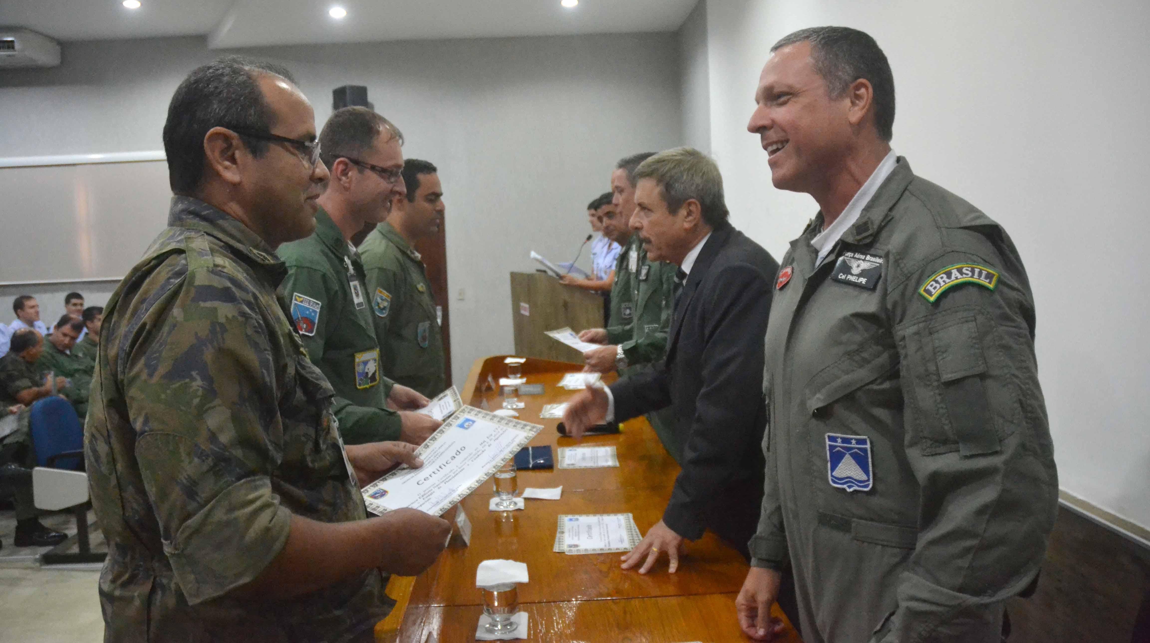 Oficiais farão parte das células de comando e controle de operações aeropespaciais