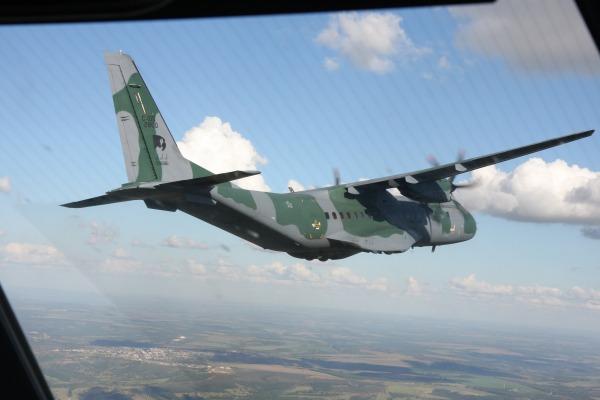Unidades equipadas com aeronaves C-105 Amazonas treinam atuação em missão de paz