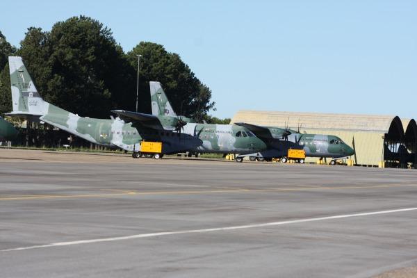 Unidades operam juntas a partir de Anápolis (GO)  Ten Humberto / Agência Força Aérea