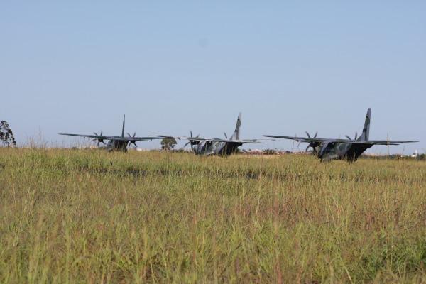 Aeronaves C-105 operam a partir de Anápolis  Ten Humberto / Agência Força Aérea