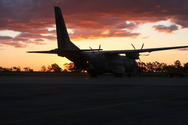 Exercício ocorre também à noite  Ten Humberto / Agência Força Aérea