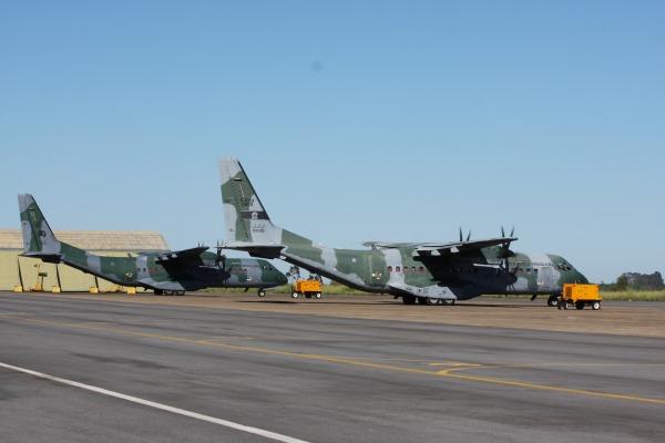 À espera dos caças Gripen NG, base se torna sede de exercícios operacionais da FAB