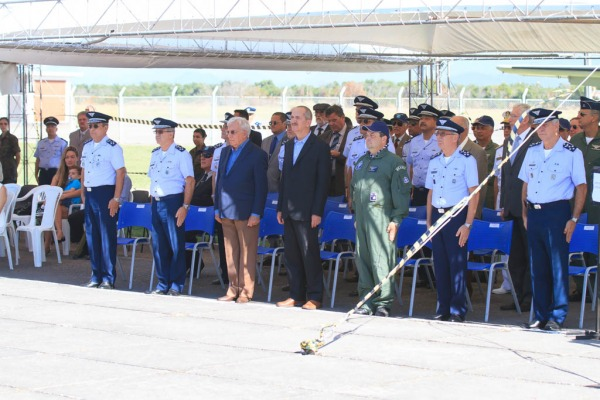 Diversas autoridades participaram das cerimônias  Sgt Johnson / Agência Força Aérea